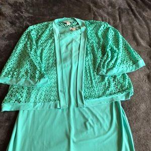Coldwater Creek 2 piece dress size 16